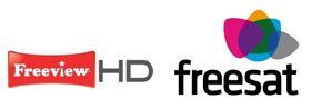 Freeview Freesat logo