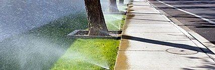 Impianti irrigazione per giardini e parchi pubblici