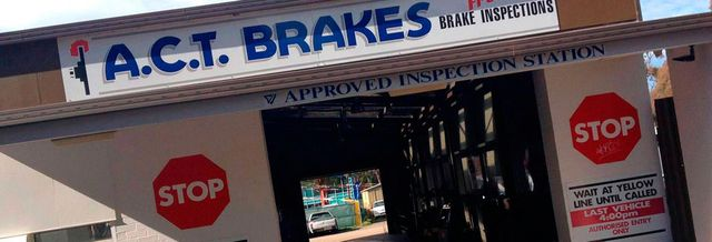 ACT Brakes & Automotive Pty Ltd store front