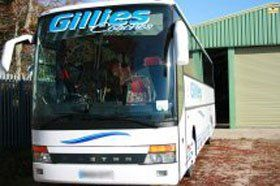 Coach travel - Aylesham, Canterbury, Kent - Gillies Coaches Ltd - Coach