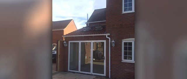 Extension completed on commercial property in Lincoln