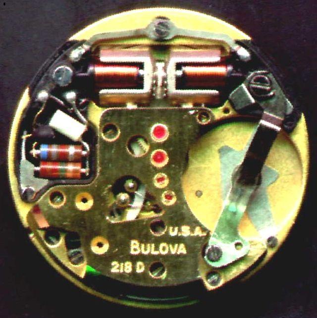 Bulova Accutron 218 movement Budget Accutron Service