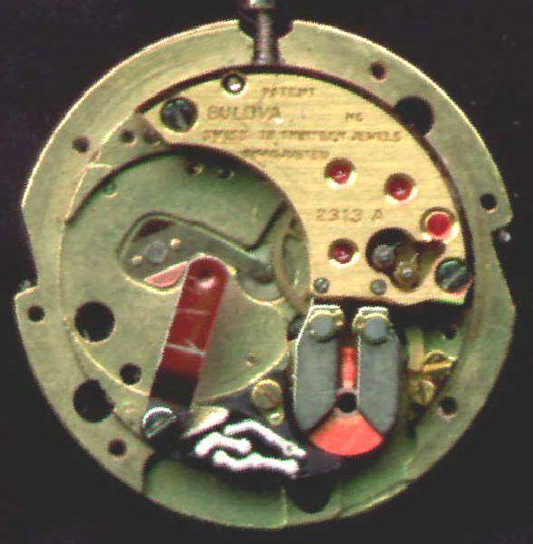 Bulova Accutron 230 movement Budget Accutron Service