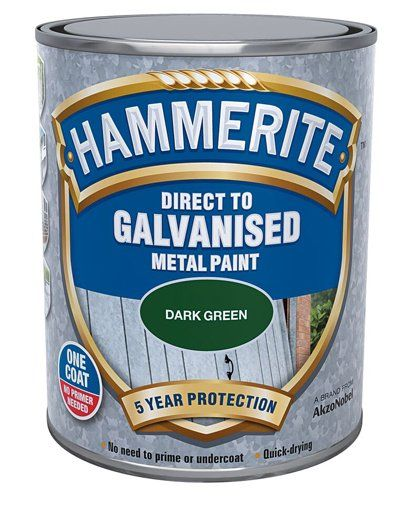 A can of Hammerite metal paint