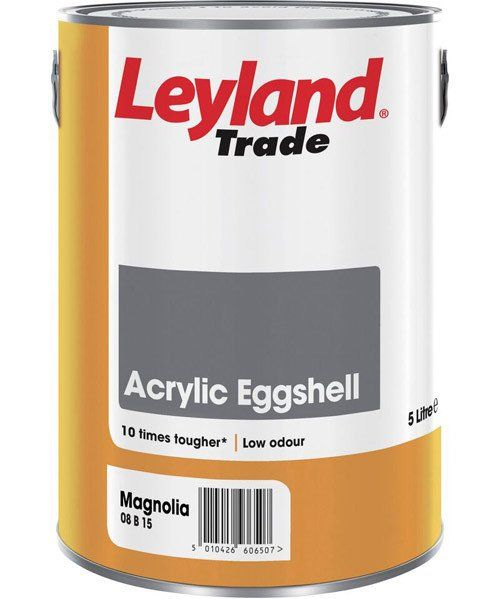 A  can of Leyland paint