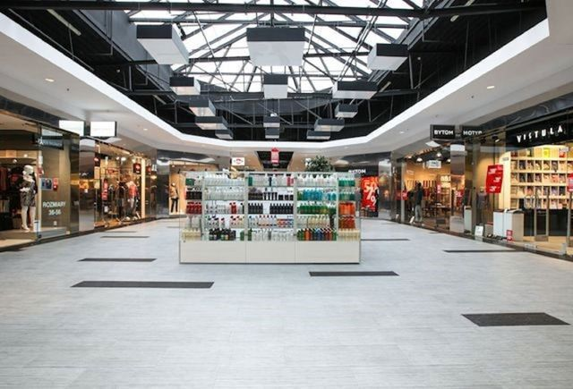 Retail store flooring