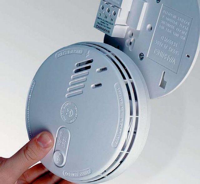 domestic fire alarm installation