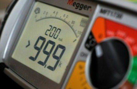 electrical test meter