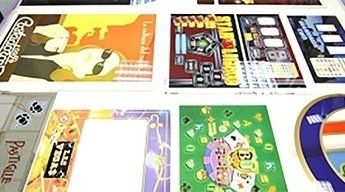 stampa serigrafica  tavolo luminoso varie
