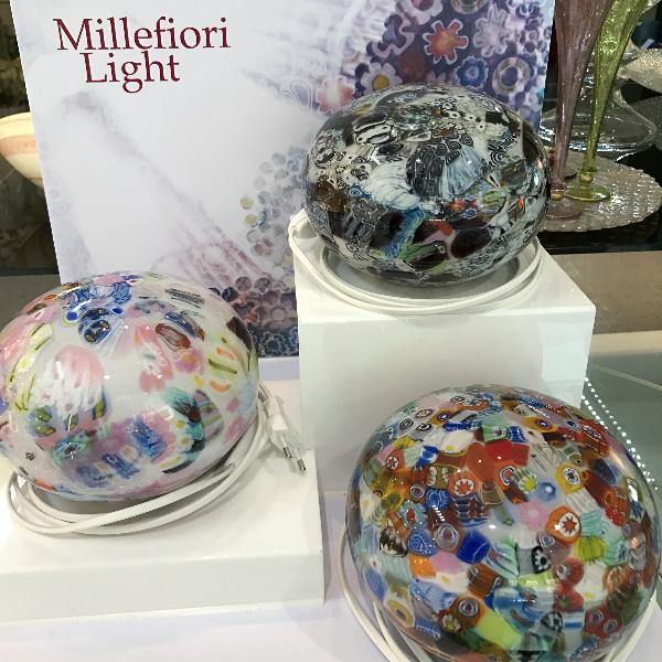 sfere di vetro di Murano