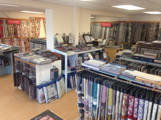 a wide range of fabrics