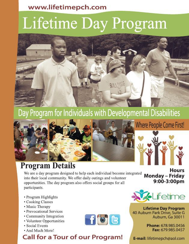 Lifetime Day Program   Adult Day Care   Residential Home