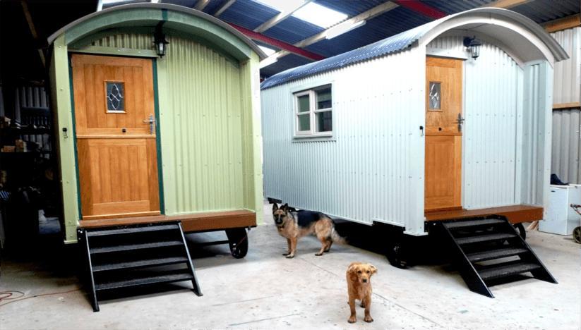 Bespoke shepherd huts, UK