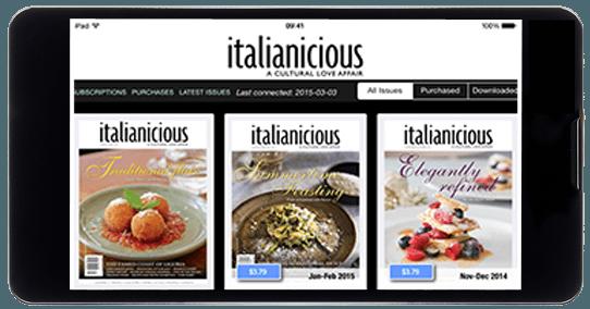 Media Blender magazine app