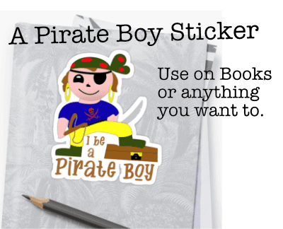 Prate Boy Sticker