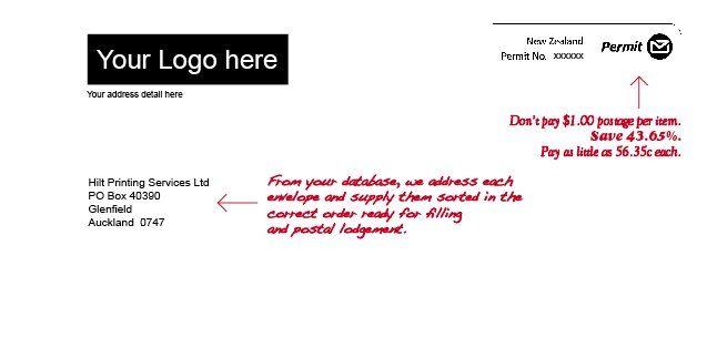 Postal Discounts hiltprint.co.nz
