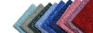 tappeti per le scale di diversi colori