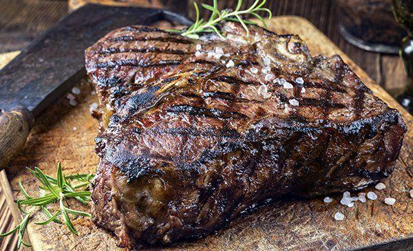 a secco di età compresa tra bistecca barbecue porterhouse