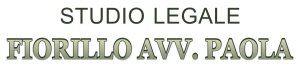 STUDIO LEGALE FIORILLO DI FIORILLO AVV. PAOLA logo