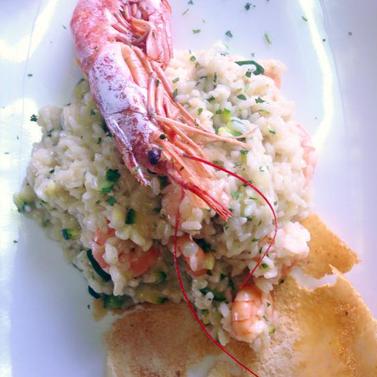 Piatto di pesce a Rezzato