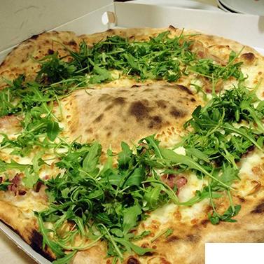 Pizza bianca alla rucola a Rezzato