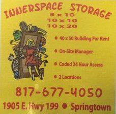 Self Storage, Springtown, TX