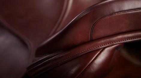 stitch on a saddle