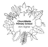 Churchfields primary school logo