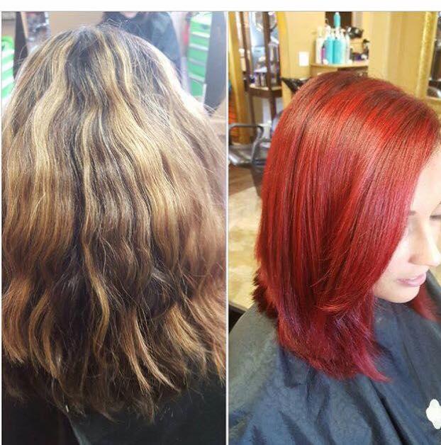 Hair Design Color Texturizing Salon Elements