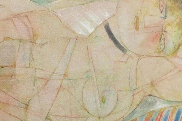 Dipinto raffigurante una donna