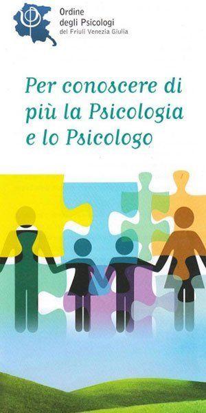 Depliant informativo sul ruolo e le funzioni svolte dallo psicologo