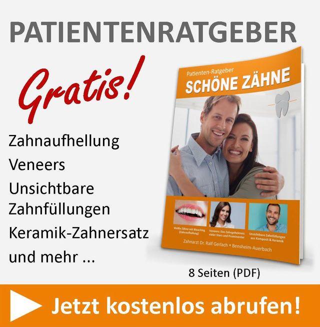 Gratis-Ratgeber Schöne Zähne Bensheim-Auerbach