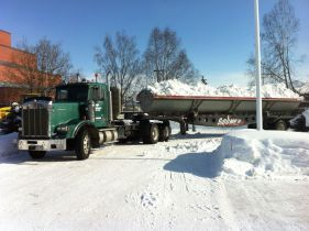 Trucks for snow removal