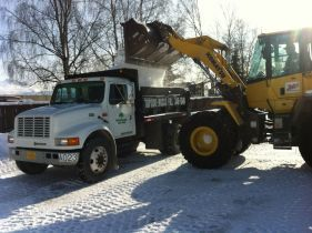 Our snow plowing service