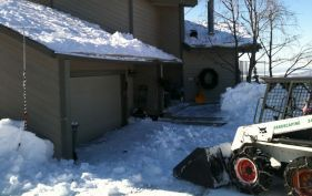Our snow plowing project