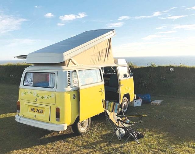 Meet Daisy in cornwall and devon / Camper Hire Escapes Ltd