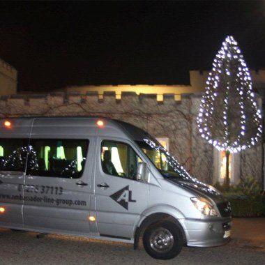 Special event minibus hire