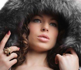 cappuccio di pelliccia