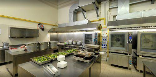 cucina centralizzata