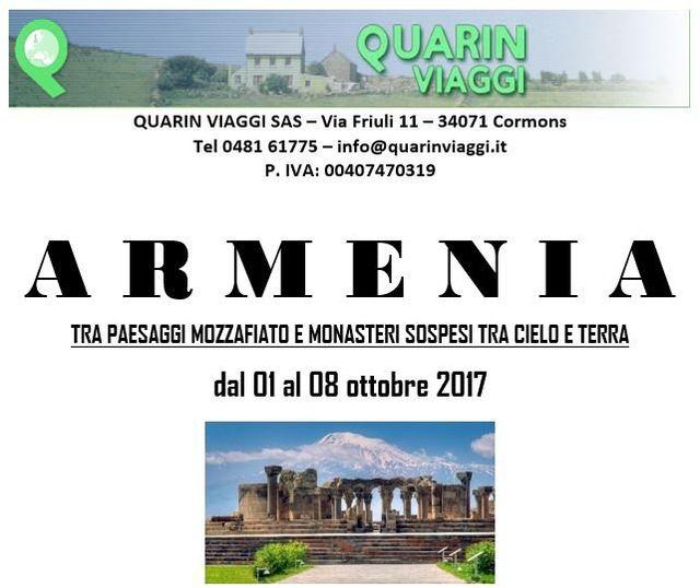 Viaggio di gruppo in Armenia