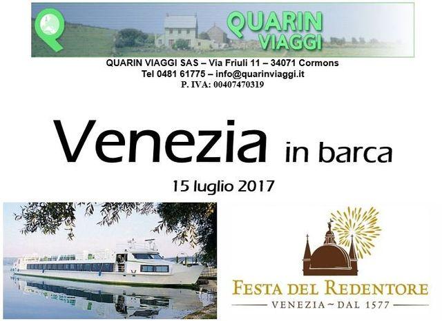 Viaggio di gruppo a Venezia