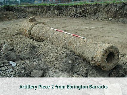 Artillery Piece 2 from Ebrington Barracks