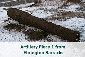 Artillery Piece 1 from Ebrington Barracks