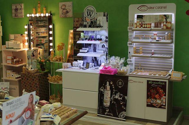 Prodotti cosmetici biologici negozi