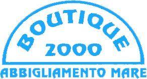 Boutique 2000 Abbigliamento Mare Logo