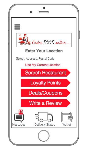 Edmonton Food Delivery | Food Ordering Systems Edmonton