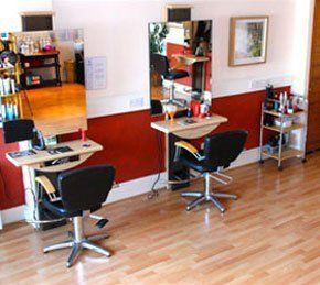 Professional stylists - Exeter, Devon - Marsh Hair - interior