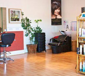 Professional stylists - Exeter, Devon - Marsh Hair - Salon interior