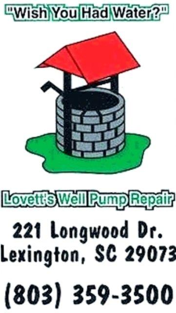 lovett's well pump repair