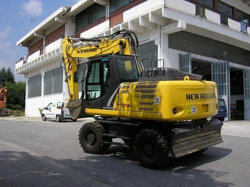 Macchinario edile NEW HOLLAND